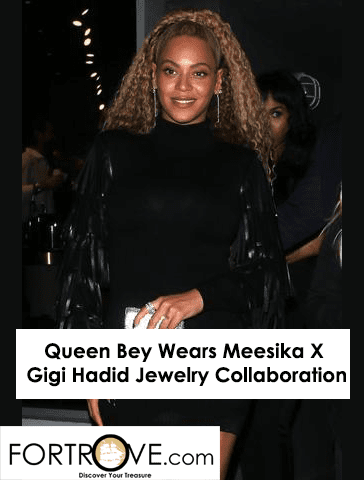 Queen Bey Wears Meesika X Gigi Hadid Jewelry Collaboration
