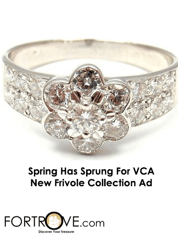 Spring Has Finally Sprung at Van Cleefs & Arpels: New Video For Frivole Collection Charms