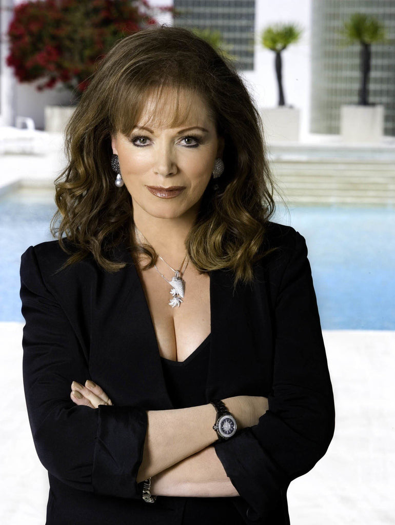 Jackie Collins' Stunning Taste in Jewelry