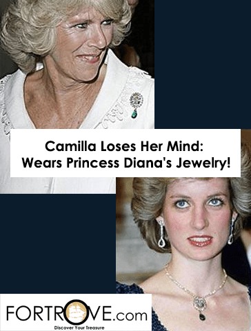 Camilla Parker Bowles Loses Her Mind: Wears Princess Diana's Jewelry!