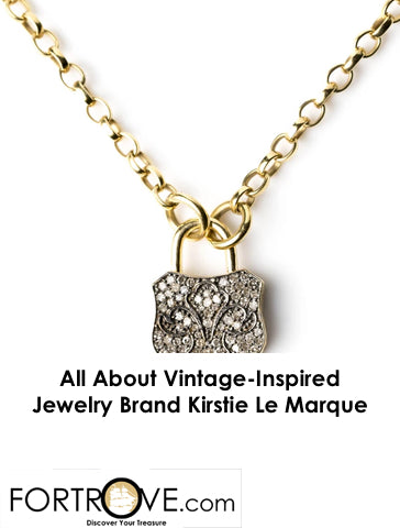 All About Vintage-Inspired Jewelry Brand Kirstie Le Marque