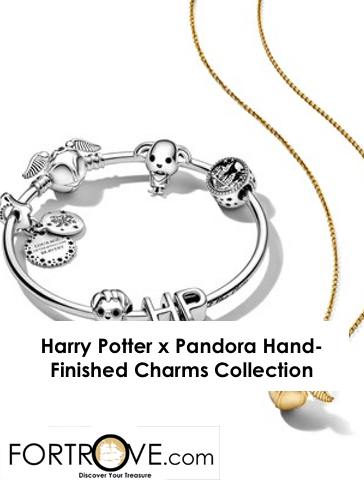 Harry Potter x Pandora Hand-Finished Charms Collection