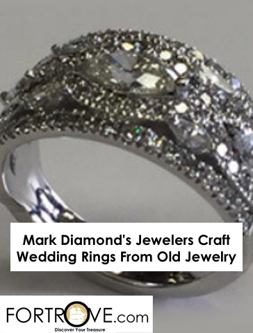 Mark Diamond's Jewelers Craft Wedding Rings From Old Jewelry