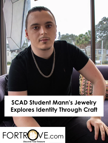 SCAD Student Mann's Jewelry Explores Identity Through Craft