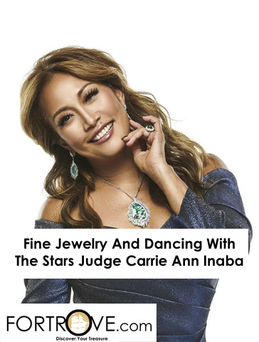 Fine Jewelry And Dancing With The Stars Judge Carrie Ann Inaba