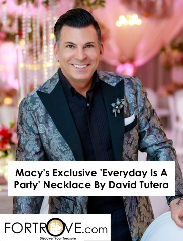 Macy's Exclusive 'Everyday Is A Party' Necklace By David Tutera