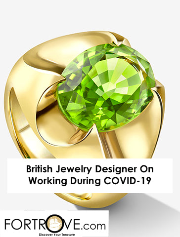 British Jewelry Designer On Working During COVID-19