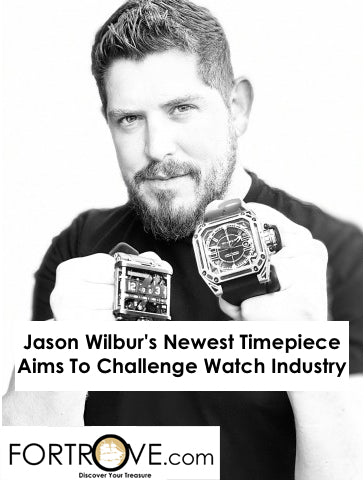 Jason Wilbur's Newest Timepiece Aims To Challenge Watch Industry