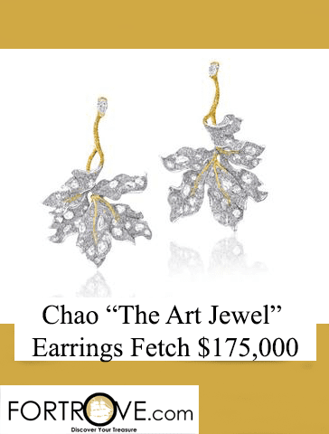 Cindy Chao The Art Jewel Earrings Fetch $175,000 in Sothebys Auction