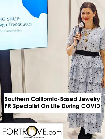 Southern California-Based Jewelry PR Specialist On Life During COVID