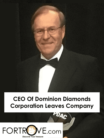 CEO Of Dominion Diamonds Corporation Leaves Company