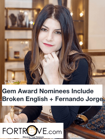 Gem Award Nominees Include Broken English + Fernando Jorge