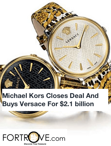 Michael Kors Closes Deal And Buys Versace For $2.1 billion
