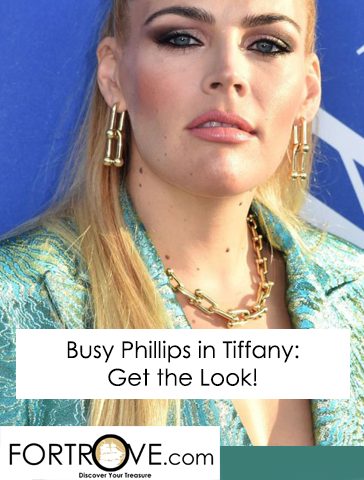 Busy Phillips in Tiffany & Co: Get the Look!