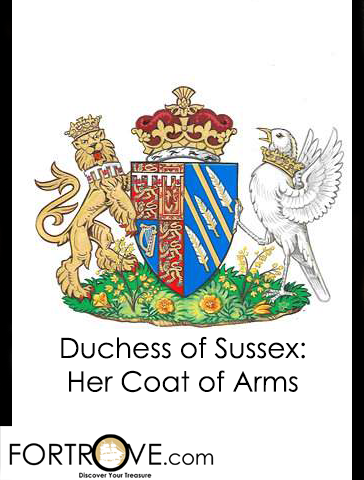 Duchess of Sussex: Her Coat of Arms