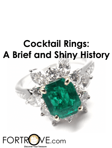 Cocktail Rings: A Brief and Shiny History