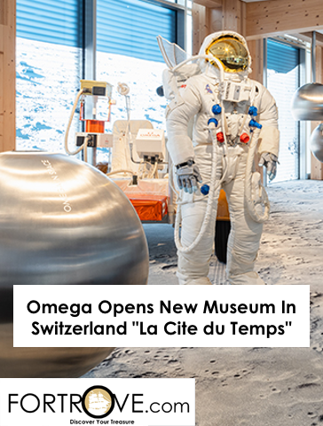 Omega Opens New Museum In Switzerland