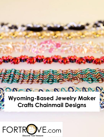 Wyoming-Based Jewelry Maker Crafts Chainmail Designs