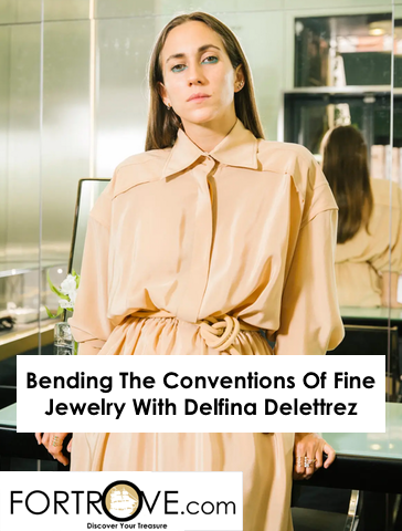Bending The Conventions Of Fine Jewelry With Delfina Delettrez