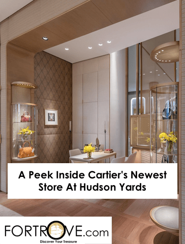 A Peek Inside Cartier's Newest Store At Hudson Yards