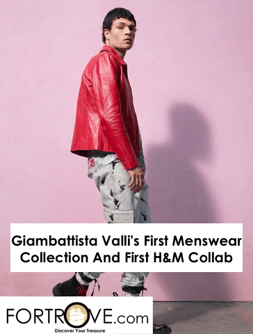 Giambattista Valli's First Menswear Collection And First H&M Collab