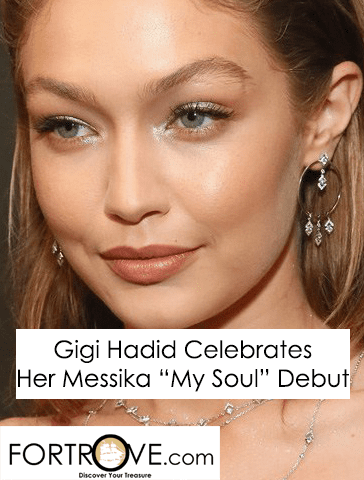 Gigi Hadid Celebrates New Messika