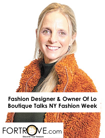 Fashion Designer & Owner Of Lo Boutique Talks NY Fashion Week