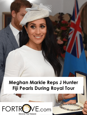 Meghan Markle Reps J Hunter Fiji Pearls During Royal Tour