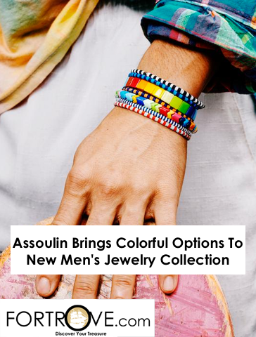 Assoulin Brings Colorful Options To New Men's Jewelry Collection