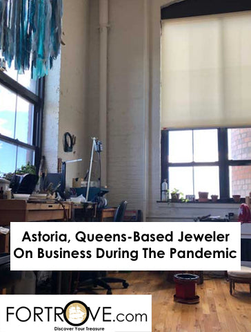 Astoria, Queens-Based Jeweler On Business During The Pandemic