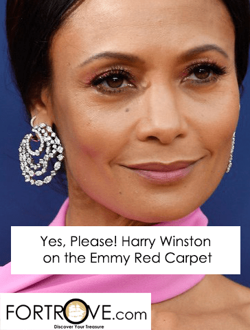 Yes, Please! Harry Winston on the Emmy Gold Carpet
