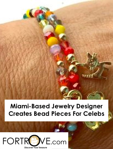 Miami-Based Jewelry Designer Creates Bead Pieces For Celebs