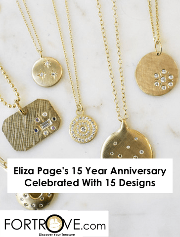 Eliza Page's 15 Year Anniversary Celebrated With 15 Designs
