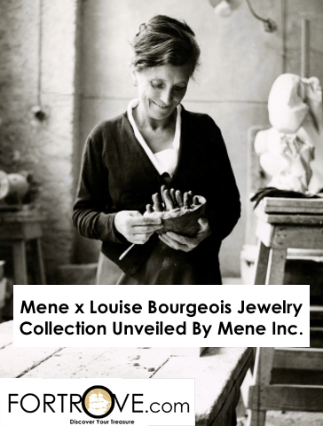 Mene x Louise Bourgeois Jewelry Collection Unveiled By Mene Inc.