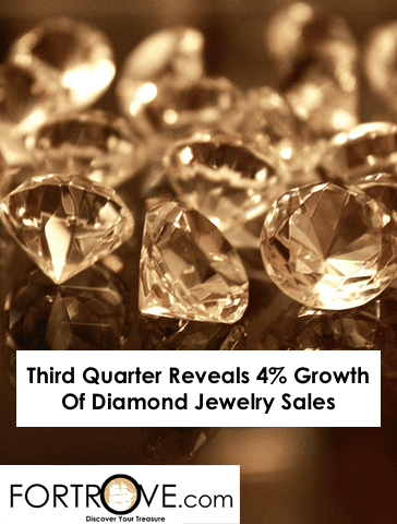 Third Quarter Reveals 4% Growth Of Diamond Jewelry Sales