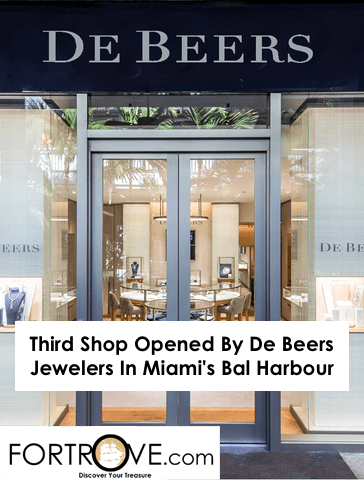 Third Store Opened By De Beers Jewelers In Miami's Bal Harbour