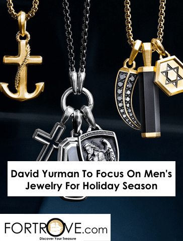 David Yurman To Focus On Men's Jewelry For Holiday Season