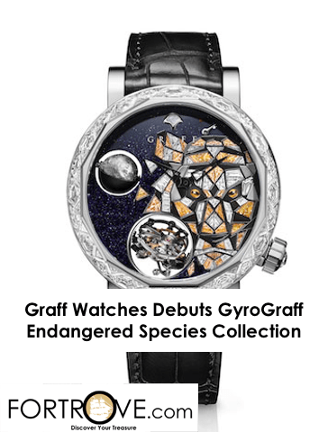 Graff Debuts GyroGraff Endangered Species Watches Collection
