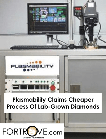 Plasmability Claims Cheaper Process Of Lab-Grown Diamonds