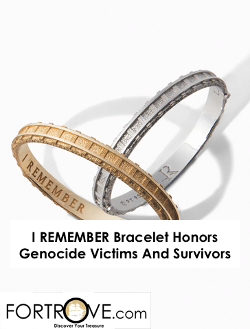 I REMEMBER Bracelet Honors Genocide Victims And Survivors