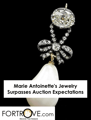 Marie Antoinette's Jewelry Surpasses Auction Expectations