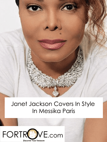 Janet Jackson Covers In Style Magazine