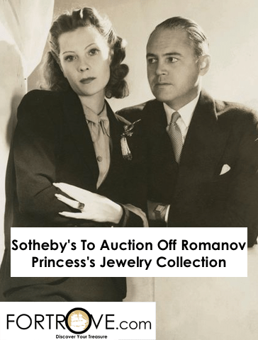 Sotheby's To Auction Off Romanov Princess's Jewelry Collection