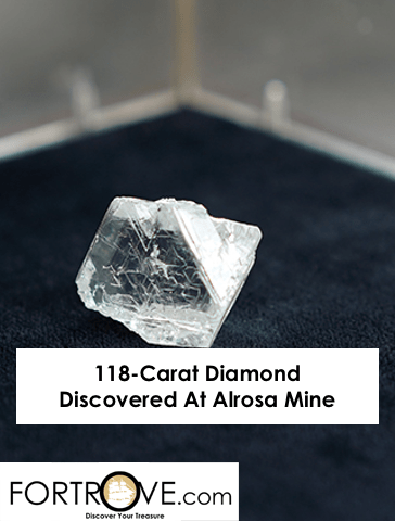 118-Carat Diamond Discovered At Alrosa Mine
