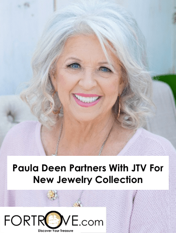 Paula Deen Partners With JTV For New Jewelry Collection