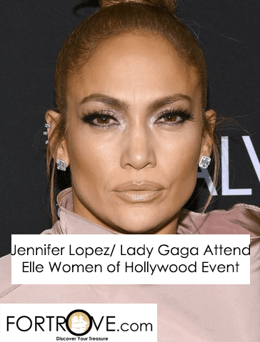 Jennifer Lopez/Lady Gaga Attend Elle Women of Hollywood Event