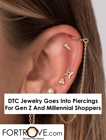 DTC Jewelry Goes Into Piercings For Gen Z And Millennial Shoppers