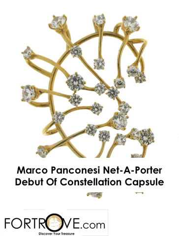 Marco Panconesi Net-A-Porter Debut Of Constellation Capsule