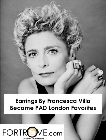 Earrings By Francesca Villa Become PAD London Favorites