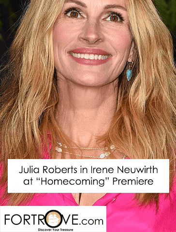 Julia Roberts in Irene Neuwirth at